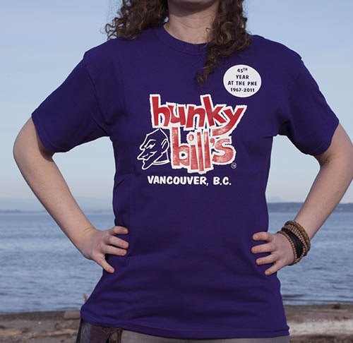 Hunky Bills Purple 45th TShirt Online