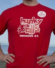 Hunky Bills Red 45th TShirt Online